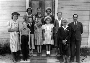 Skolbarn 1940