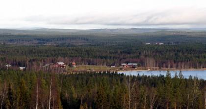 Bysjö vy hösten 2011