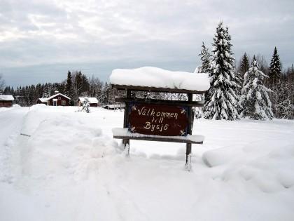 Snöbild från Näset 2012